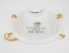 FFP2 Cup Respirator Nose Dust Mask with breather valve